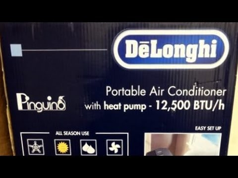 Unboxing Delonghi Portable Air Conditioner Pac An125hpec