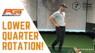 Golf Fitness -TPI  Lower Quarter Rotation Test
