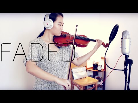 FADED | ALAN WALKER | FREESTYLE VIOLIN COVER | LEAH H LI