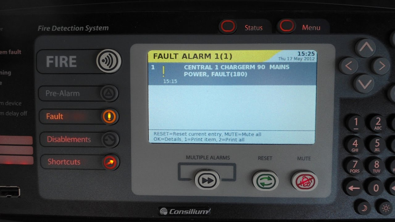 Seabil Com Consilium M4 3 Fire Detection Alarm System