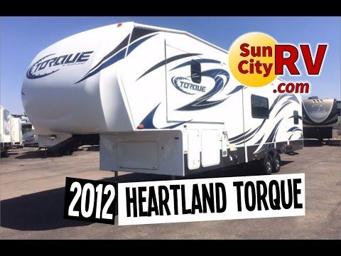 Heartland Torque M-312 For Sale Phoenix Toy Hauler 2012 | Sun City RV