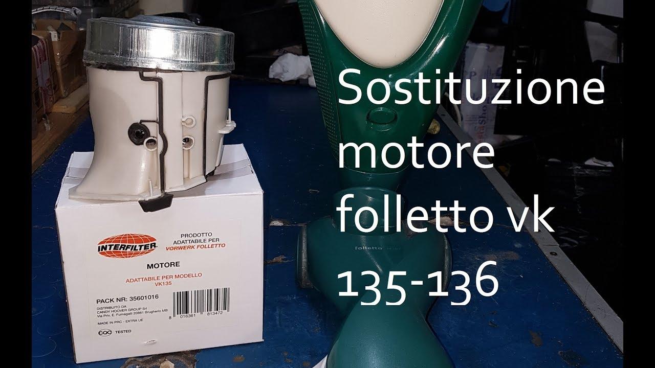 Schema Elettrico Folletto Vk 121 : Folletto vk sostituzione motore youtube
