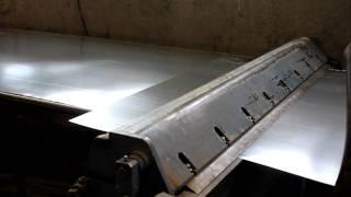 видео Изготовление вентиляционных коробов