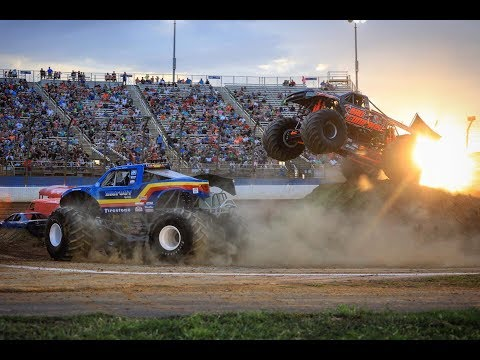 TMB TV: ActionTracks 9.6 - Charlotte Motor Speedway - Charlotte, NC 2018 Monster Trucks 8/11/18