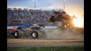 TMB TV: ActionTracks 9.6 - Charlotte Motor Speedway - Charlotte, NC 2018 Monster Trucks 8/11/18