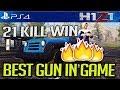 H1Z1 PS4: BEST GUN IN H1Z1?! 21 KILL SOLO WIN #H1Z1 #H1Z1PS4 #CJAY