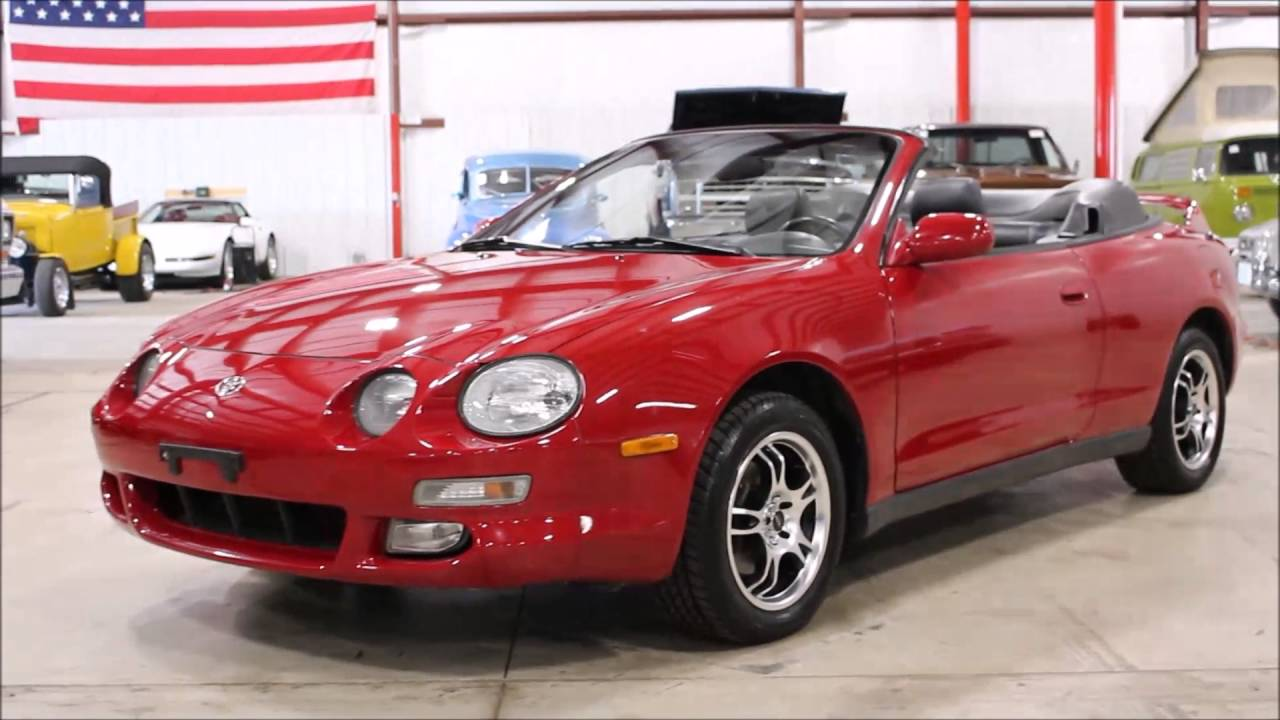 Toyota Celica 2016 >> 1996 Toyota Celica - YouTube