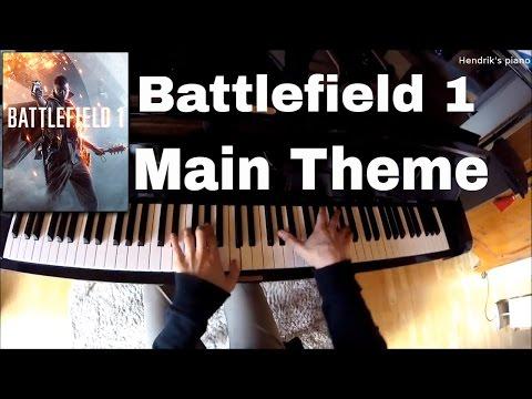 Battlefield 1 - Main Theme // Jan-Hendrik Linßen // Piano Cover