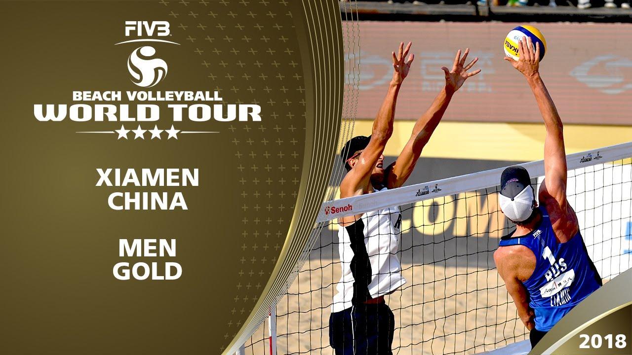 Krasilnikov/Liamin vs. Stoyanovskiy/Velichko | 4* Xiamen - FIVB Beach Volleyball World Tour 17/18