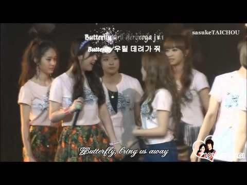 [Engsub+Romanization+Hangul] Butterfly - Jessica ft. Krystal (To the Beautiful You OST)