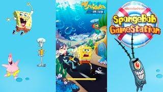 Губка Боб Игровая Станция Веселые Детские Игры для Android. Бикини Мини Интернет Магазин