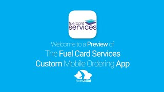 Fuel Card Services - Mobile App Preview - FUE821W