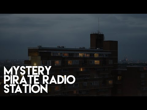 A Mysterious Pirate Radio Station In Manchester!