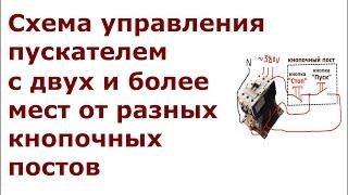 видео Контакторы и магнитные пускатели: особенности и отличия