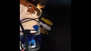 Mikro USB Erkek 2 RCA AV Audio Video Kablosu Dönüştürücü Bileşeni