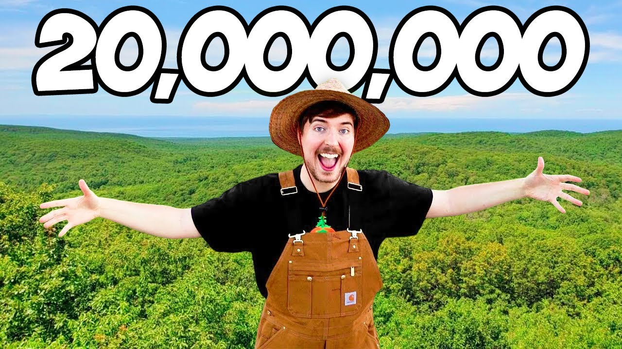 Planting 20,000,000 Trees, My Biggest Project Ever! - YouTube