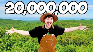 Planting 20,000,000 Trees, My Biggest Project Ever! Video