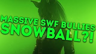 Dead by Daylight SAW DLC WITH...THE PIG! - MASSIVE SWF BULLIES SNOWBALL?!