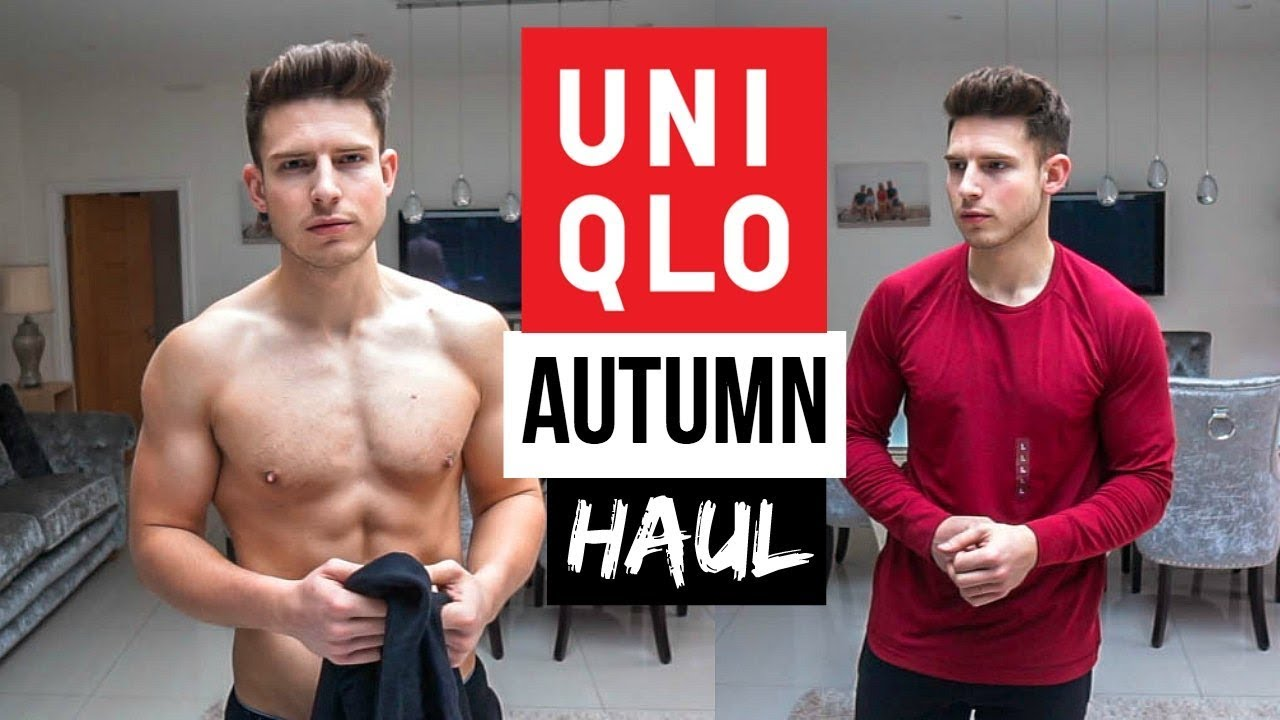 d35201ade959c Huge Uniqlo Men s Clothing Haul   Try On