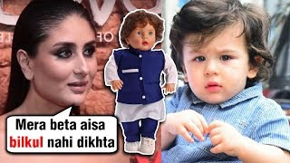 Kareena Kapoor ANGRY REACTION On Taimur Ali Khan DOLL   Koffee With Karan Season 6