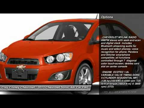 2013 CHEVROLET SONIC IRVING, TX D4217864. Clay Cooley Chevrolet