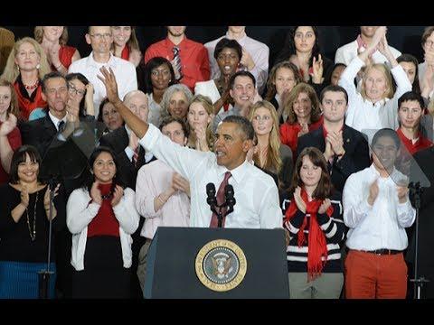President Obama speaks at NC State