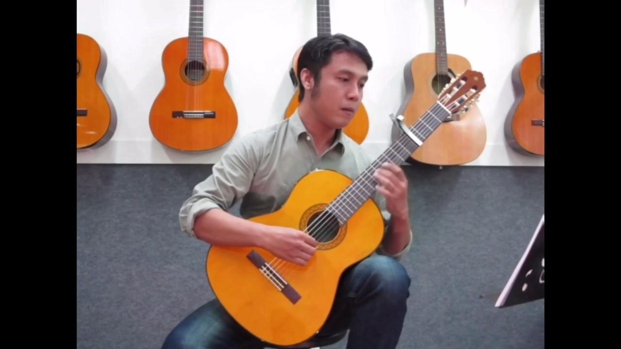 "Review Yamaha Classic Guitar "" C 70 "" - YouTube"