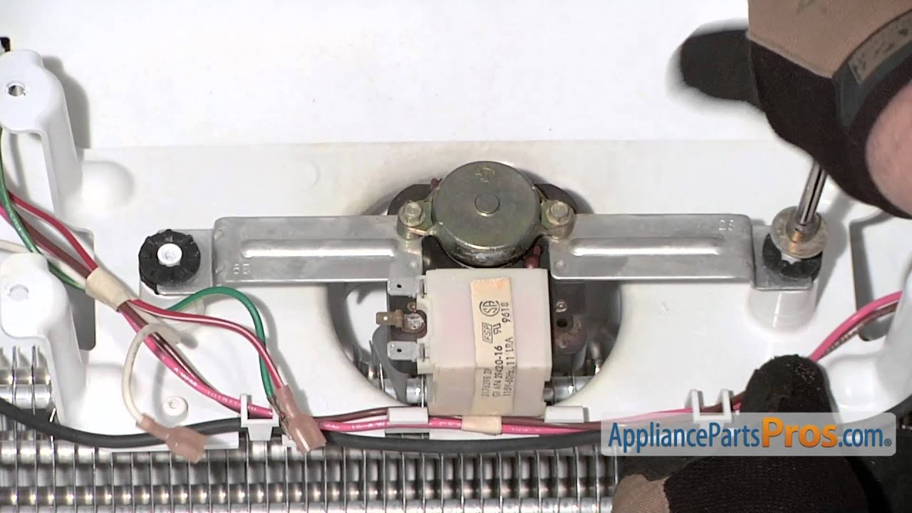 Refrigerator Evaporator Fan Motor (part #WP4389142)  How To Replace  YouTube