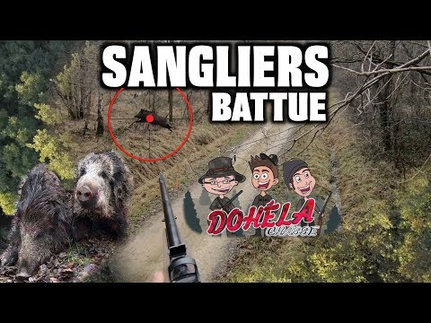 SUPERBE CHASSE AU SANGLIER !! PLUSIEURS TIRS AVEC ANALYSE !!  🐗