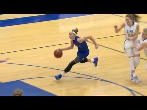 St. Michael-Albertville Vs. Hopkins High Schools Girls Basketball