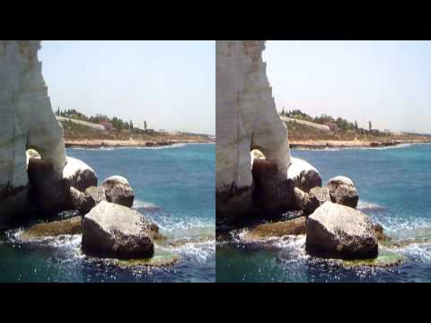 Digging Israel - Exploring the Northern Coast in 3D