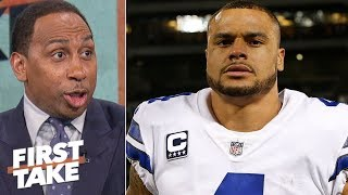 Jerry Jones extending Dak Prescott means coaching is Cowboys' problem | First Take