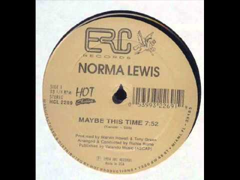 Maybe This Time  Norma Lewis