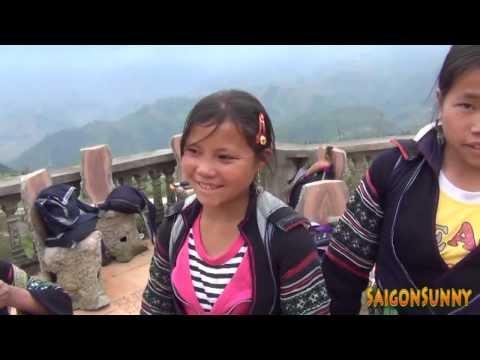 Những cô gái dân tộc tại Sapa nói tiếng Anh như Gió.
