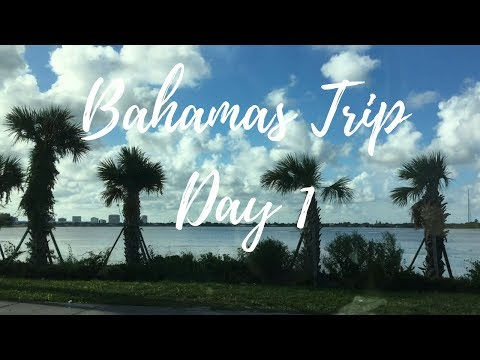 Bahamas Trip Day 1//AIR B&B ROOM TOUR