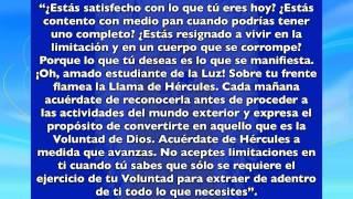 """""""Meditaciones Diarias - 1º Rayo Azul - Día Domingo"""" con Sebastián Wernicke"""