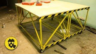 🔥 Верстак-трансформер своими руками. Проектирование металлоконструкции.
