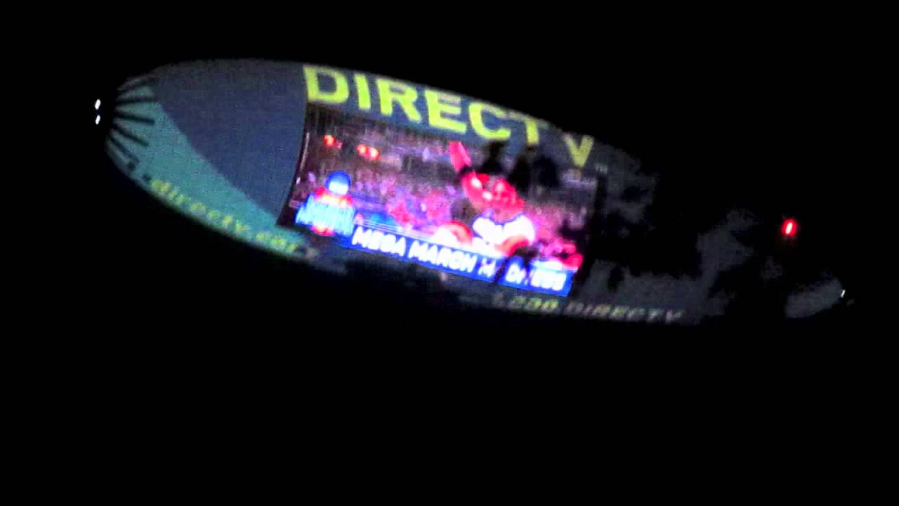 Awesome Direct Tv Blimp After Patriots Game 100 By 50ft Tv