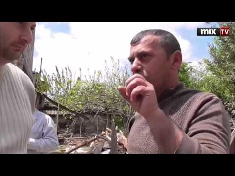 Репортаж из г. Мартакерт Нагорный Карабах Сасланбека Исаева для радио Балтком. MIX TV