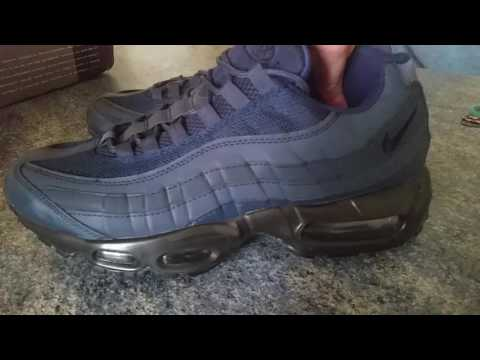 Nike Air Max 95 fake replicas Obsidian Blue DHGATE Unboxing