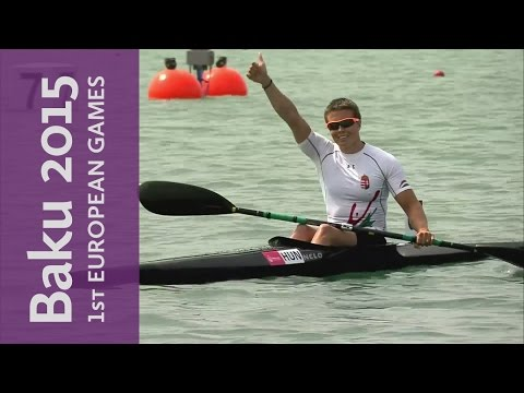 Danuta Kozak gets a gold for Hungary in the Women