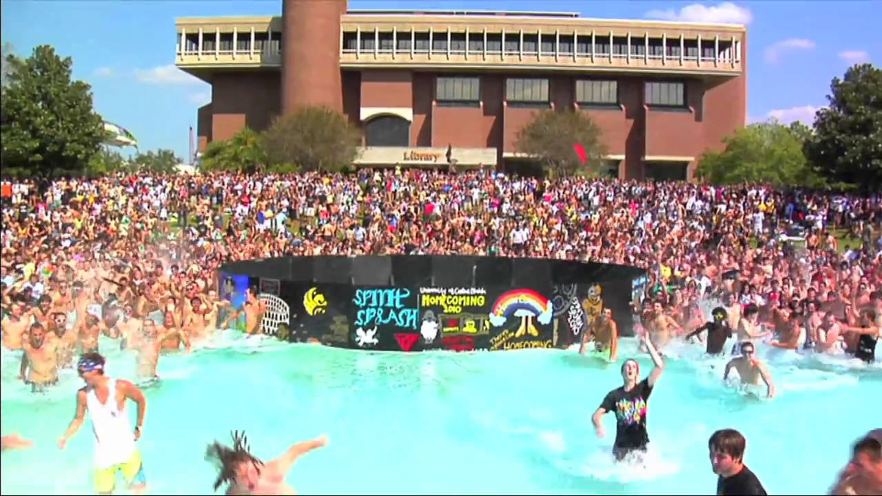Ucf Spirit Splash 2010 Youtube