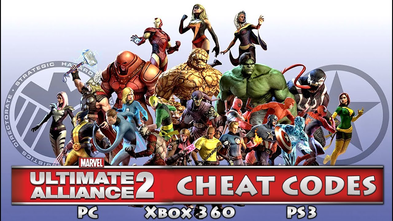Marvel Ultimate Alliance 2 Xbox One Cheat Codes Marvel Ultimate