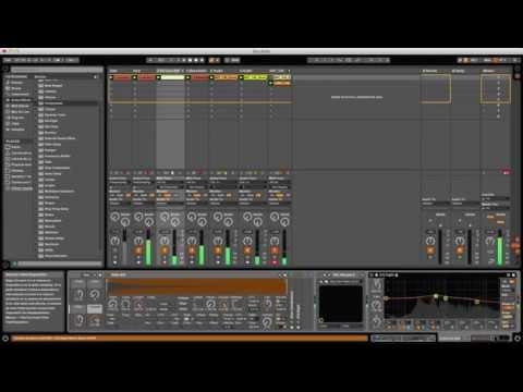 Fridays Night Techno Production (Ableton Live 9)