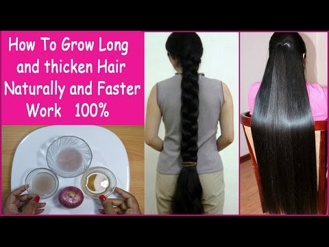 Thumbnail: How To Grow Long and thicken Hair Naturally and Faster 100% Work (Hair Growth Treatment)