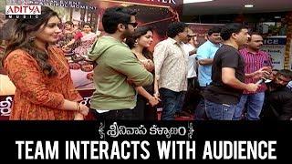 Srinivasa Kalyanam Team Interacts with Audience || Nithiin, Raashi Khanna || Dil Raju