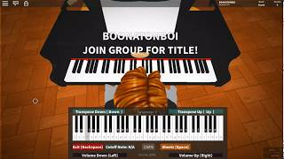 Roblox Piano - Miss Wanna Die