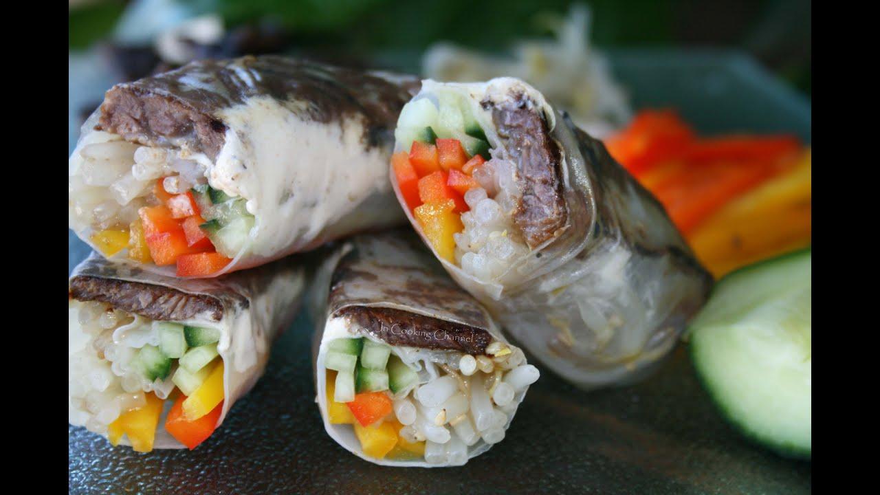 Jn korean bbq boneless ribs salad rolls youtube jn korean bbq boneless ribs salad rolls jn cooking channel forumfinder Image collections