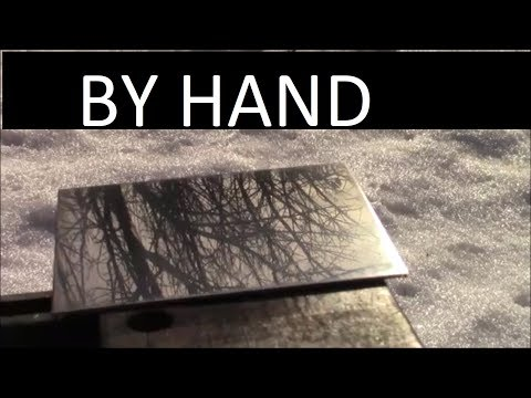 How To Sand and Polish Stainless Steel By Hand