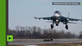 Quand des pilotes de chasse russes atterrissent sur une autoroute